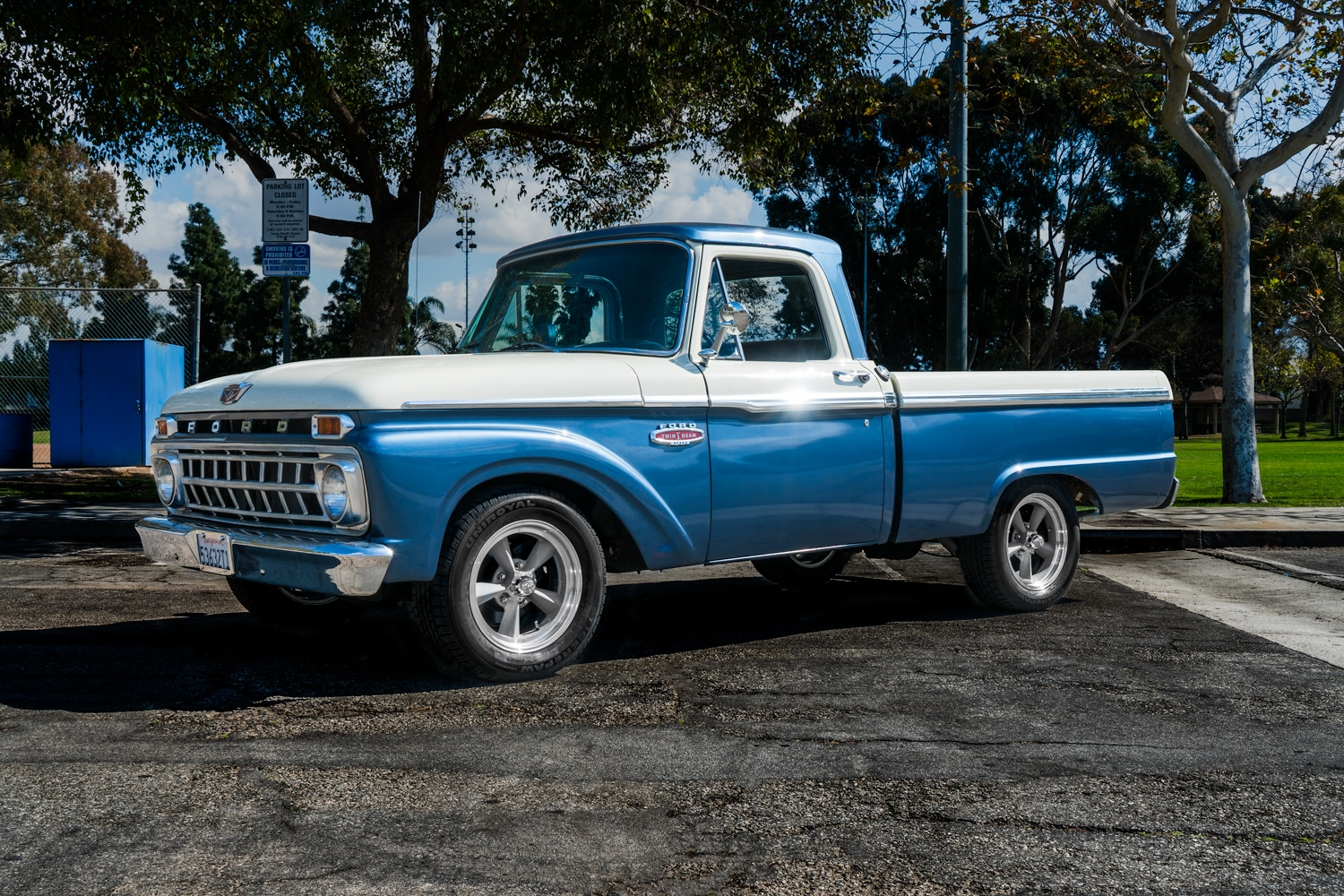 How Lowering Works 1970 Ford Truck Lowered 1965 F100